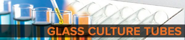 Glass Culture Tubes Banner